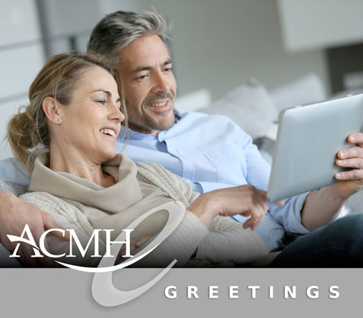 ACMH greetings